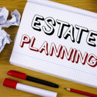 notebook that reads estate planning