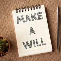 Notepad that reads make a will