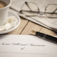 Last will and testamentl